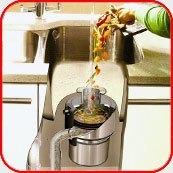 Картинка. Установка измельчителя пищевых отходов в квартире, коттедже или офисе в Волжском